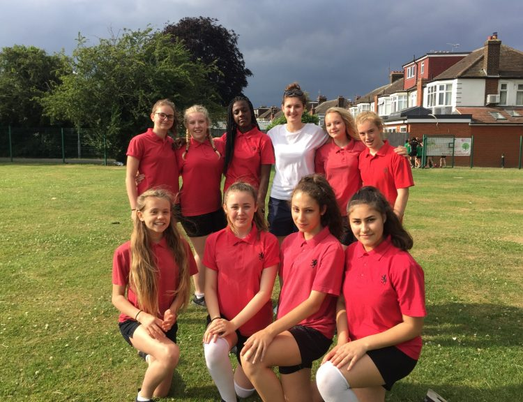 Year 9 Rounders Chace Community School